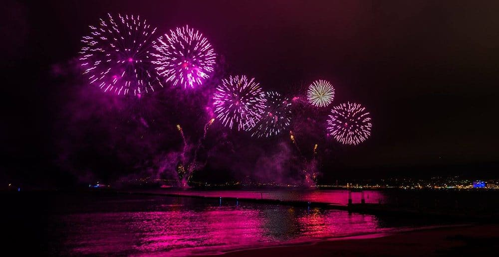 Magazine Chic - Festival Art Pyrotechnique Cannes 2018