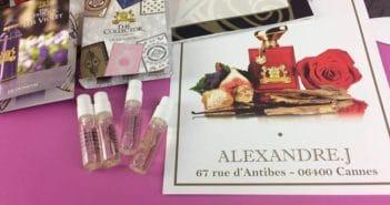 Magazine Chic - Parfums Alexandre J