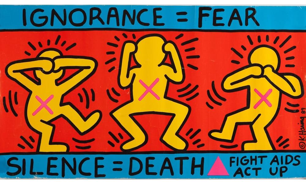 Magazine Chic - Keith Haring - Ignorance
